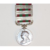 India General Service Medal, 1895 with 3 Clasps