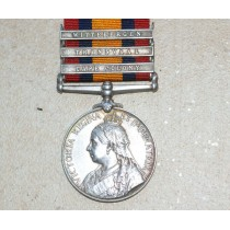 Queens South Africa Medal with 3 Clasps, Scots Guards.ON HOLD!
