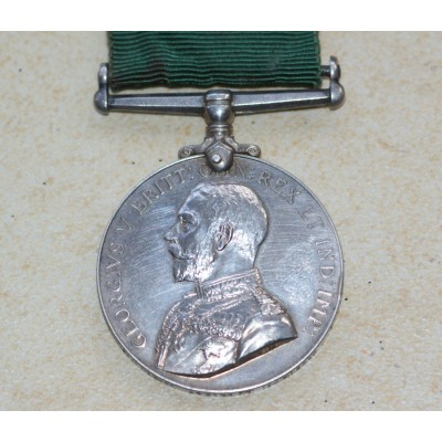 GRV Medal For Long Service in the Colonial Auxiliary Forces.