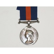 New Zealand Medal to 3422. J. McLean, 65th Regt.