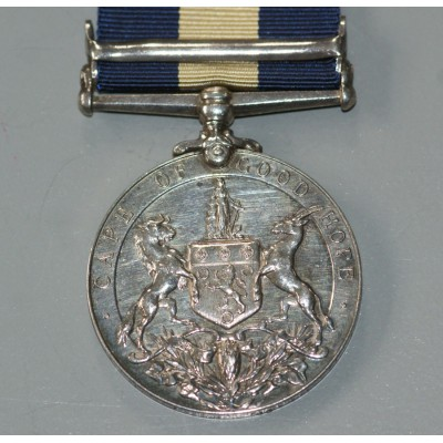 Cape of Good Hope General Service Medal with Bechuanaland Clasp to P.T.E. J.G.TIER.