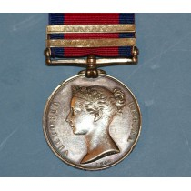 Military General Service Medal, Two Clasp to T.Little, 7th Foot Regiment