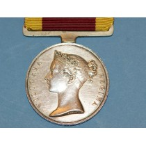 1842 China Medal to Herbert Schomberg, Commander. R.N.