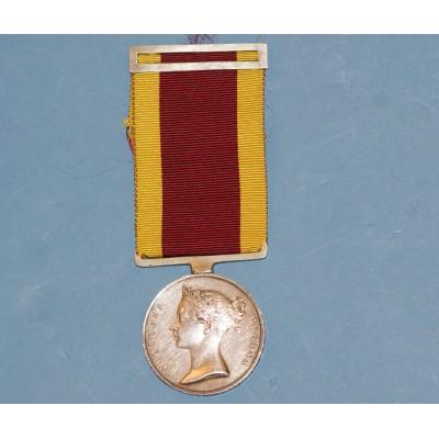 1842 China Medal to Herbert Schomberg, Commander. R.N.