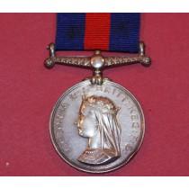 New Zealand 1863-1866 Medal to 248 Wm Adams, 50th Queens Own Regiment