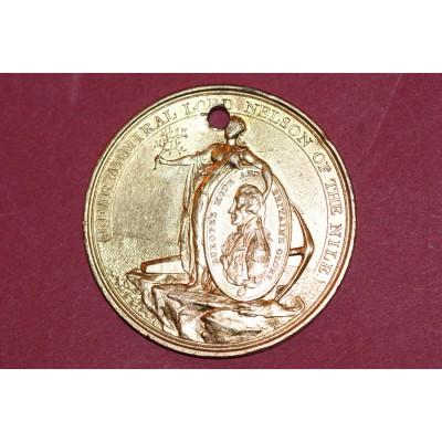 A Gold Washed Davison's Nile Medal, 1798