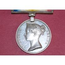 Scinde Medal, Battle of Hyderbad 1843, Impressed Naming to Tent Lascar Bargoo, 2nd Comp, 1st Battalion Arty