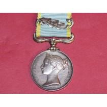 Crimea Medal With Alma Clasp ( Un named)