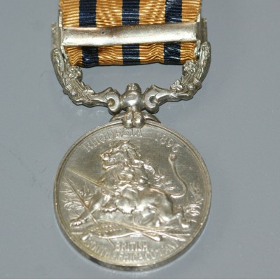British South Africa Company Medal, Rhodesia 1896 with Mashonaland 1897 Clasp (Hamilton).