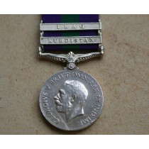 General Service Medal with Kurdistan  & Iraq Clasps