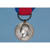 Waterloo Medal to Thomas Parsons, 15th Kings Hussars, Died of Wounds at Waterloo.
