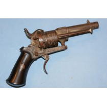 Very Small Pinfire Revolver