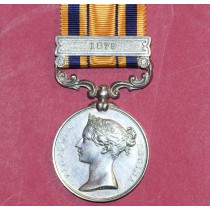 South Africa Medal with 1879 Clasp to Pte S Goodman,57th Foot.