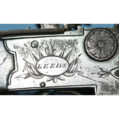 Calverts of Leeds O/U Tap Action Flintlock Pistol